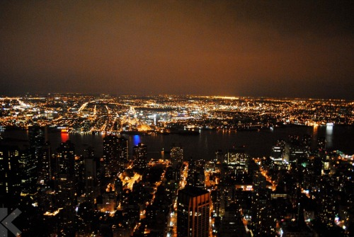 The view from the Empire State Building