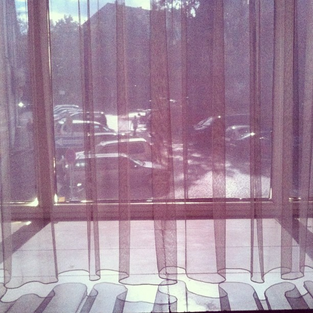 Curtains in the Grand City Hotel #light #shadow #manifesta9  (Taken with Instagram at Grand City Hotel Hessenland Kassel)