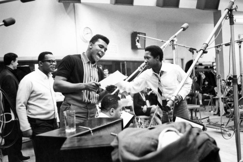 awesomepeoplehangingouttogether:  Muhammad Ali and Sam Cooke