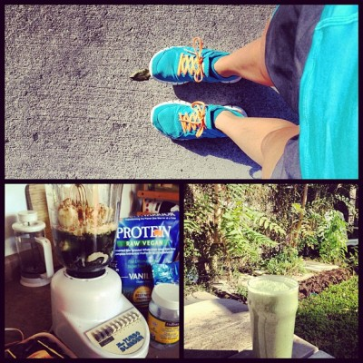 #morning #run and #smoothie before 10am;) #happy #girl #fitness #fun @runforlife #runforlife  (Taken with Instagram at Secret Garden)