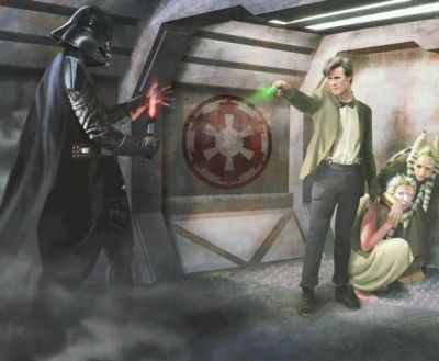 Dr. Who vs. Darth Vader.