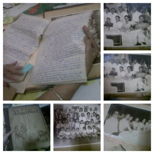 After lunch, Nanay (my grandmother) was browsing through her scrapbook (they didn't have these photo albums yet in 1950's) and showed me those hand-written love letters Tatay (my grandfather) wrote for her. <3  I realized that nobody's doing that anymore. :( Don't you know that it is more romantic & touching when you exchange hand-written letters? I know nakakatamad especially in our generation today but.. ugh. I love receiving letters, especially when it came from our friends/loveones..  and geez… Dad and his sibs (uncle & aunts) are so cute when they're still little! Not to mention, Tatay is good-looking. :P We miss you Tay. <3