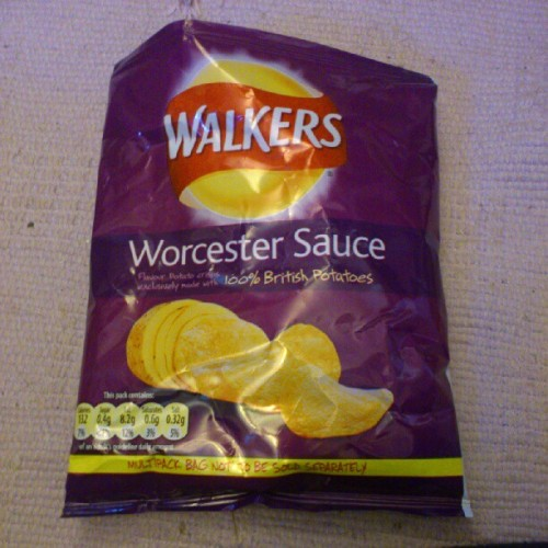 #worcestersauce #yummy #bestflavour #lunch I do love this flavour (Taken with Instagram)