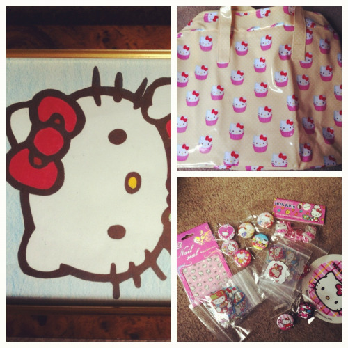 hellokittycultmember:  And more from my ex co workers. I miss them.  I <3 HK!!