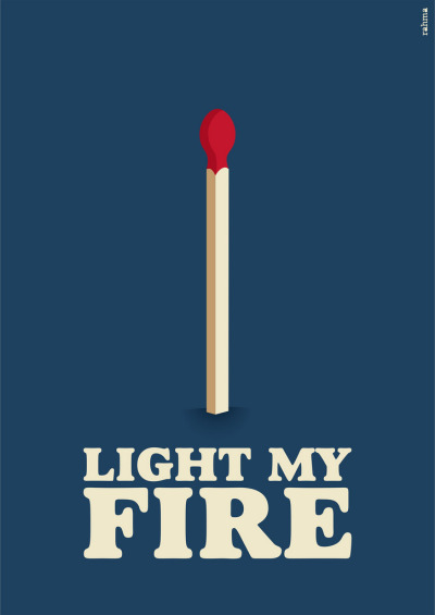 "alreadyempty:  ""Light My Fire"" Rahma Projekt  (Brazil) via Curioos"