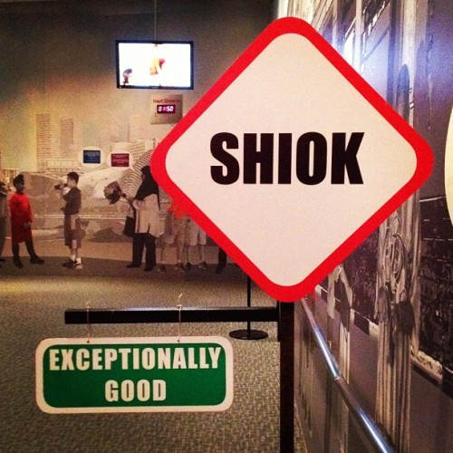 Shiok! One of my favourite Singlish words. #shiok #singlish #singapore #photooftheday 👍 (Taken with Instagram)