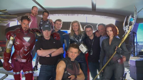 maelg0n:  The Avengers: Behind the Scenes