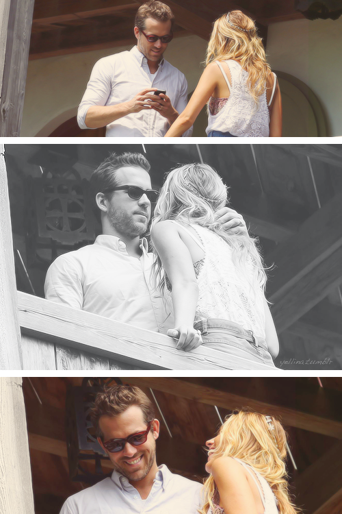 Blake Lively and Ryan Reynolds at Boone Hall Plantation & Gardens - September 10, 2012