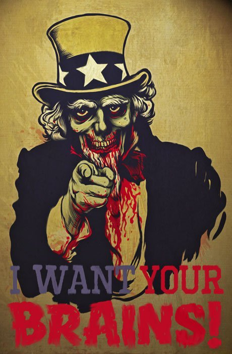 I want your Brains!