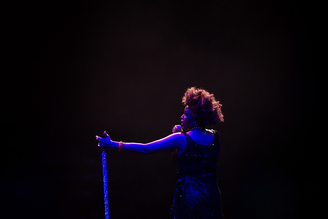 Macy Gray last night at Sydney Opera House