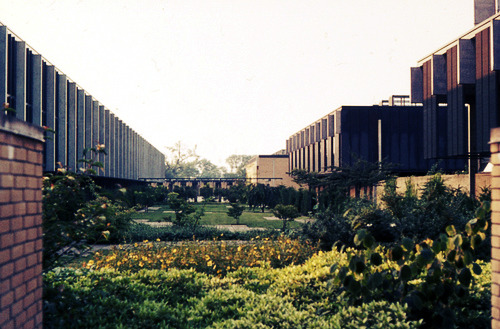 St Catherine's College, Oxford 1962, Arne Jacobsen