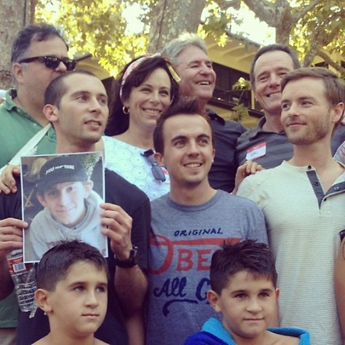 The cast of Malcolm in the Middle reunite to say their final goodbyes. RIP Dewey. Editor's Note: That is not actually what is happening here but feel free to delete this part when reblogging so we can start an internet legend that Dewey died because he suffered from the disease that Robin Williams had in that movie where he ages really fast.