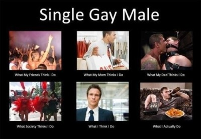 Perspectives on a single gay male