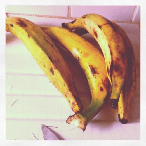Banana Plantain. (Taken with Instagram at logbessou)