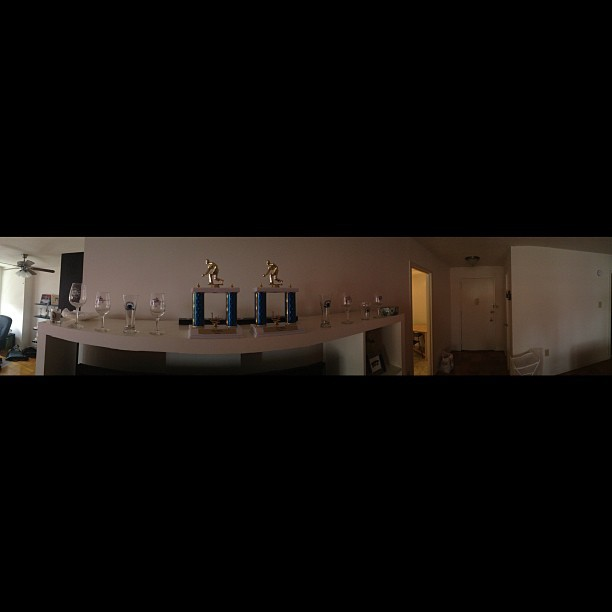 Messing around work the new panorama feature in iOS 6. Very cool. #iOS6  (Taken with Instagram)