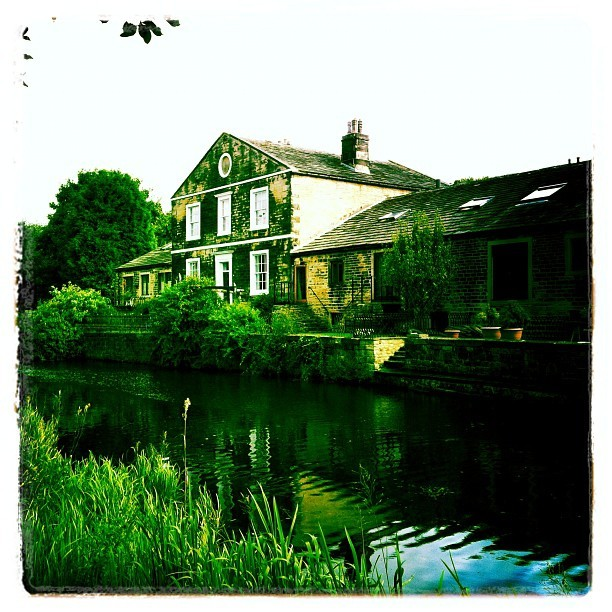A wander down the canal to rid the hangover (Taken with Instagram)