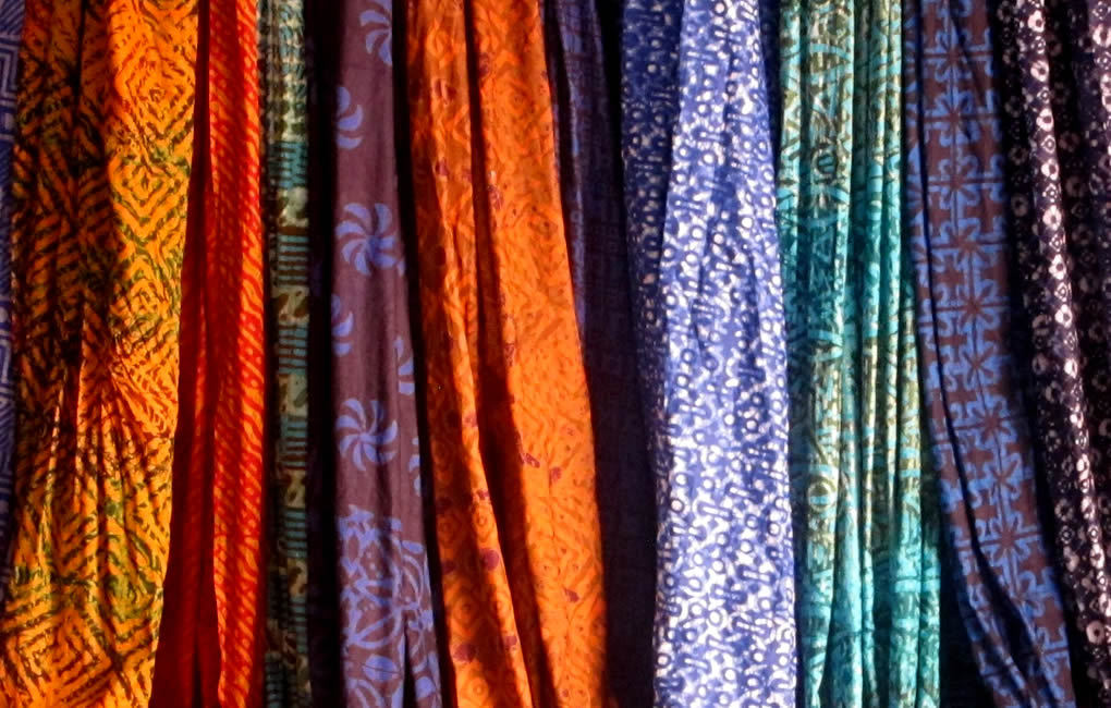 "Asi Ocansey - ""The Batik Lady""Fabric samples from the best batik maker. Ghana (Osu, Accra)"