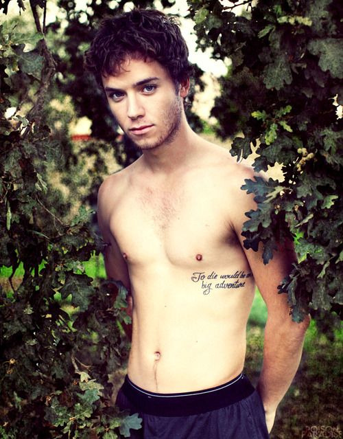 count-your-days:  OMG marry me?   LOOK AT HIS TATTOO. DO YOU SEE IT? ITS A PETER PAN QUOTE. NO BIG DEAL. LOOK AT HIM. LOOK AT HIM. ALL GROWN UP AND IM NOT EVEN TOO UPSET ABOUT IT.