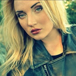 #face #swedish #leatherjacket #girl #Emma #blondehair #makeup #for #once #in #your #life #tumblr  (Taken with Instagram)