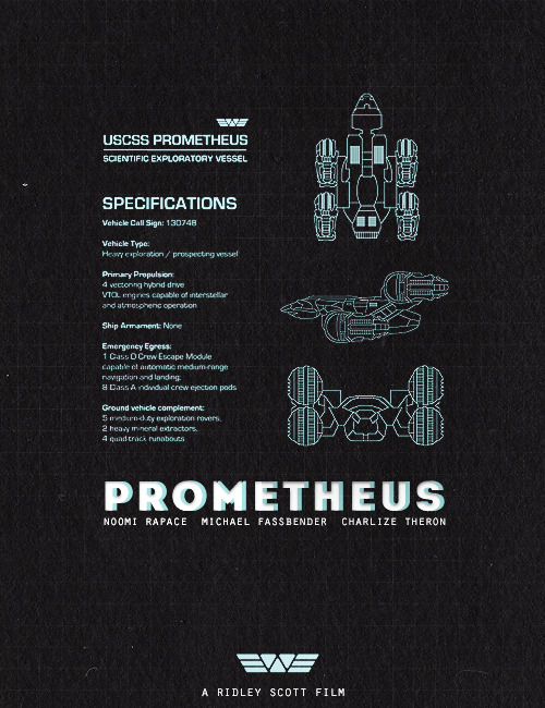 Prometheus by Lucas Pontani