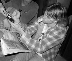 youremyvitamins:  Kurt Cobain, Seattle, September 16, 1991