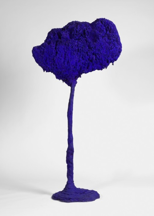 Yves Klein, 1962, The Tree