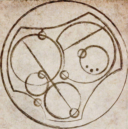I love you. Written in Circular Gallifreyan.