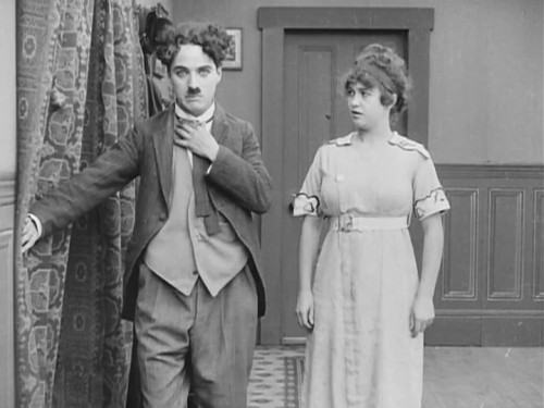 Charlie & Cecile Arnold in Those Love Pangs c.1914 (Keystone)