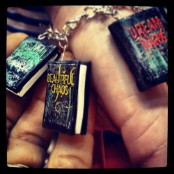 Cool reader's cool necklace