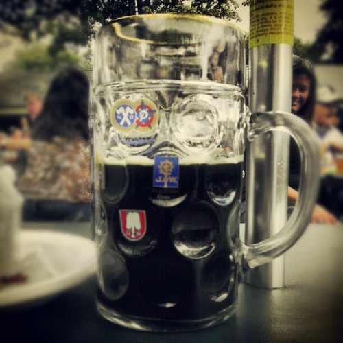 Daytime drinking…like a BAWSE! #personal #oompahfest #beer  (Taken with Instagram at oompahfest)