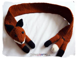 Fox Scarf ♥  Cateaclysmic Crafts ♥