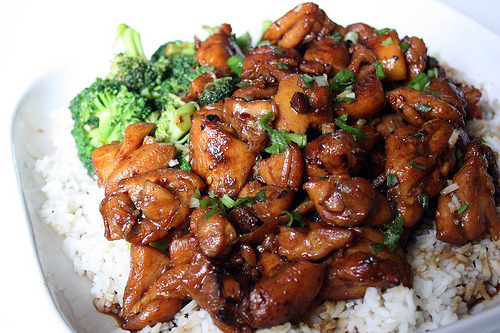 fattributes:  Chicken Teriyaki