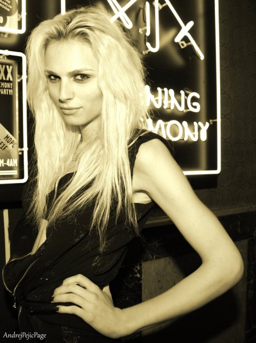 andrejpejicpage:  Andrej Pejic at Opening Ceremony party