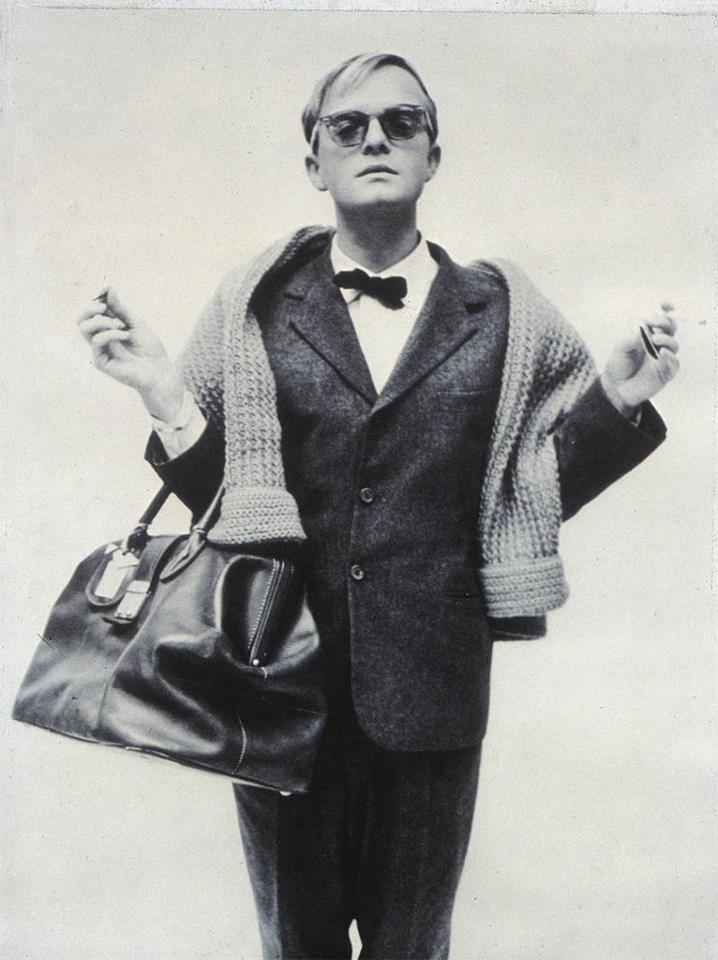 Truman Capote portrait by Richard Avedon, 1958
