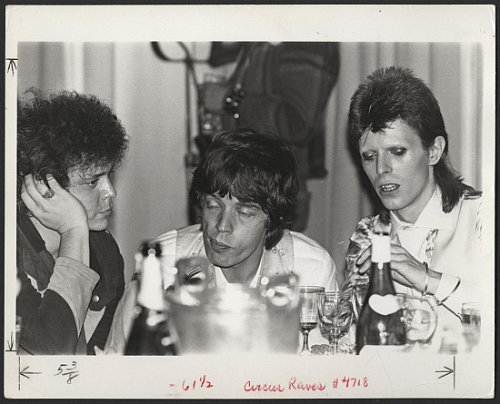 David Bowie, Mick Jagger & Lou Reed