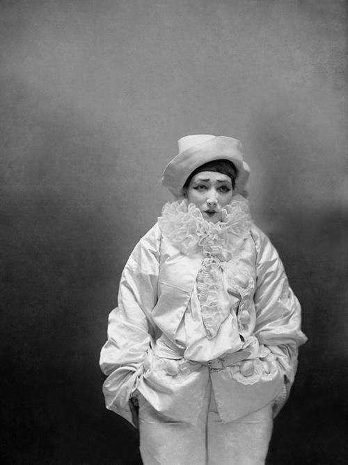 Sarah Bernhardt as Pierre the Assassin. Photograph by Nadar, 1883.