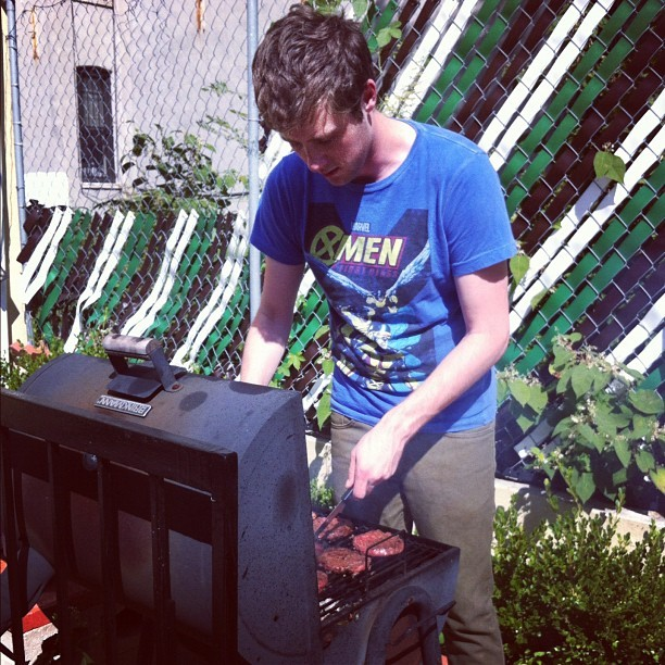 Grill mastah @ryanhatesthis  (Taken with Instagram)