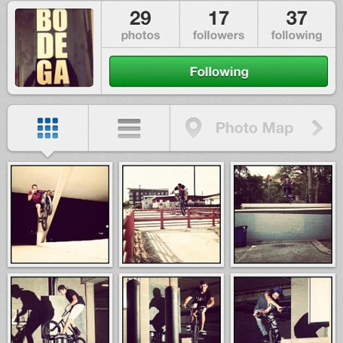 Follow @bodegacrew instagram!  (Taken with Instagram)