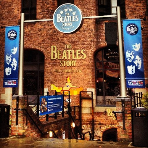 #beatles (Scattata con Instagram presso The Beatles Story)