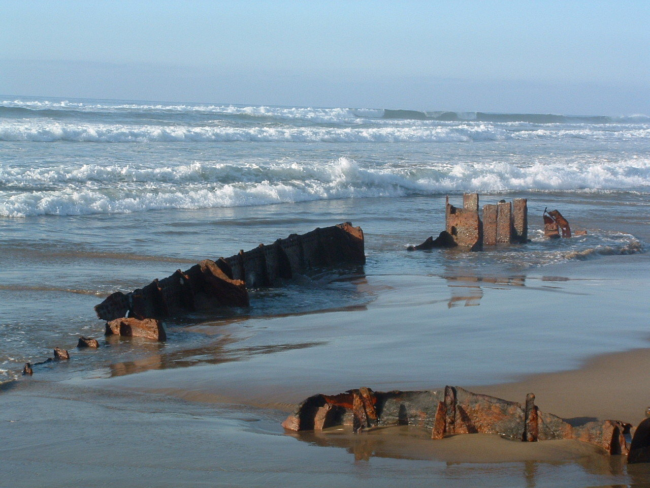 Sujameco wreck in view
