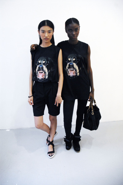 at-en:  Givenchy twins. © AJ Trela 2012