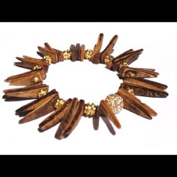 Coco Spiked Bracelet #deenandgray #bracelets #accessories #style #shop #fashion #instagood #instastyle #jewelry #armparty #armcandy #ootd #ootn #picstich #jj #love #tagstagram #instalove #fall #summer #endofsummer #handmade #oakland #bayarea #onmywrist #new (Taken with Instagram)