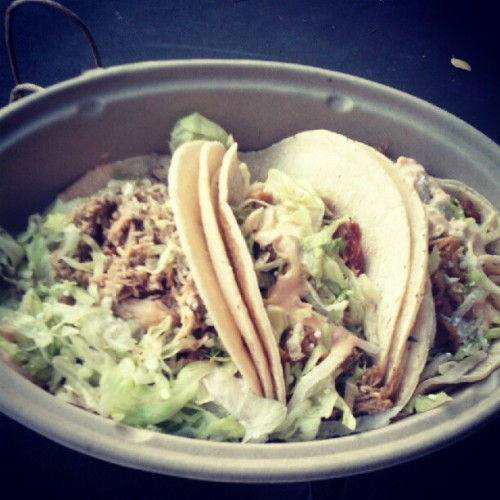 This just looked too delicious not to repost!  Come visit the Mexicue food truck and other food truck vendors on the Bryant Park plaza at Fifth Avenue and 40th Street.  Today is Red Hook Lobster Pound.  The food truck will be there until 3 p.m.  (Mexicue will be there Monday!)