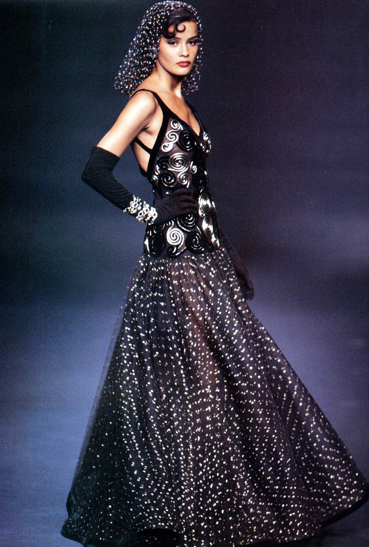 Nadege for Valentino, f/w 1992/93
