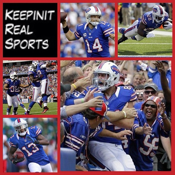 NFL:  Chiefs 17 (0-2, 0-1 away) Bills 35 (1-1, 1-0 home) FINAL  Top Performers Passing: M. Cassel (KC) - 301 YDS, 2 TD, 1 INT Rushing: C. Spiller (BUF) - 15 CAR, 123 YDS, 2 TD Receiving: D. Bowe (KC) - 8 REC, 102 YDS, 2 TD  myspace.com/keepinitrealsports  theofficialkeepinitrealsports.blogspot.com  keepinitrealsports.tumblr.com  pinterest.com/mysterkeepinit  Instagram - @Myster_Keepinit  Twitter - @MysterKeepinit  keepinitrealsports.wordpress.com  flickr.com/keepinit_real_sports  #keepinitrealsports #NFL #Football #Chiefs #Bills #Cassel #Spiller #Bowe #Sports #MysterKeepinit  (Taken with Instagram)