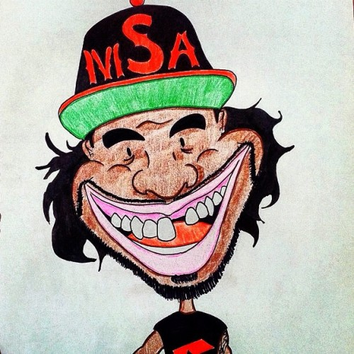 Thanks to @georgeramirez for the birthday drawing, so hyped! #msa #cartoon #drawing #portrait #mannyslaysall #birthday #caricature (Taken with Instagram)