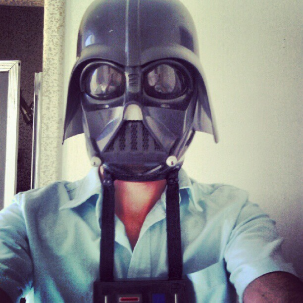 #starwars #darth #Vader #helmet #guy  (Taken with Instagram)