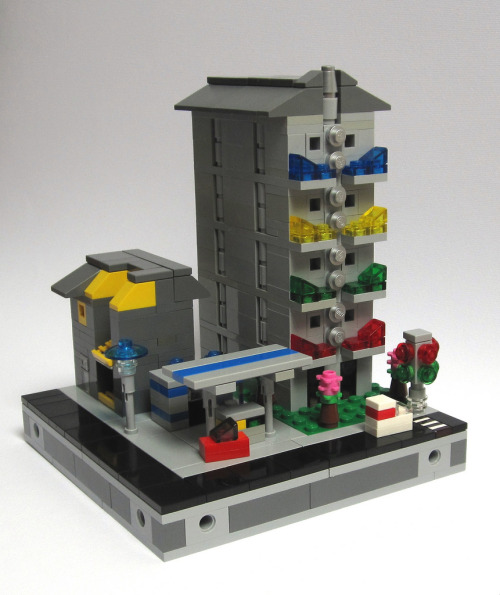 Micro City Block: overview (by JETfri)