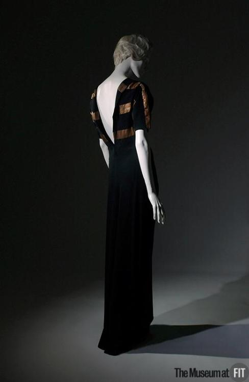 Evening Dress Augustabernard, 1933 The Museum at FIT