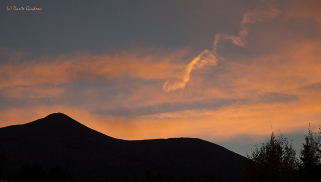 Breckenridge Sunset by Dante The Inferno on Flickr.